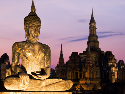 SE-THA01 :: Sukhothai Buddha - Tahilandia